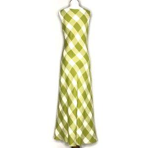 Jessica Howard Dresses - Jessica Howard Green Checker Print Dress A200811